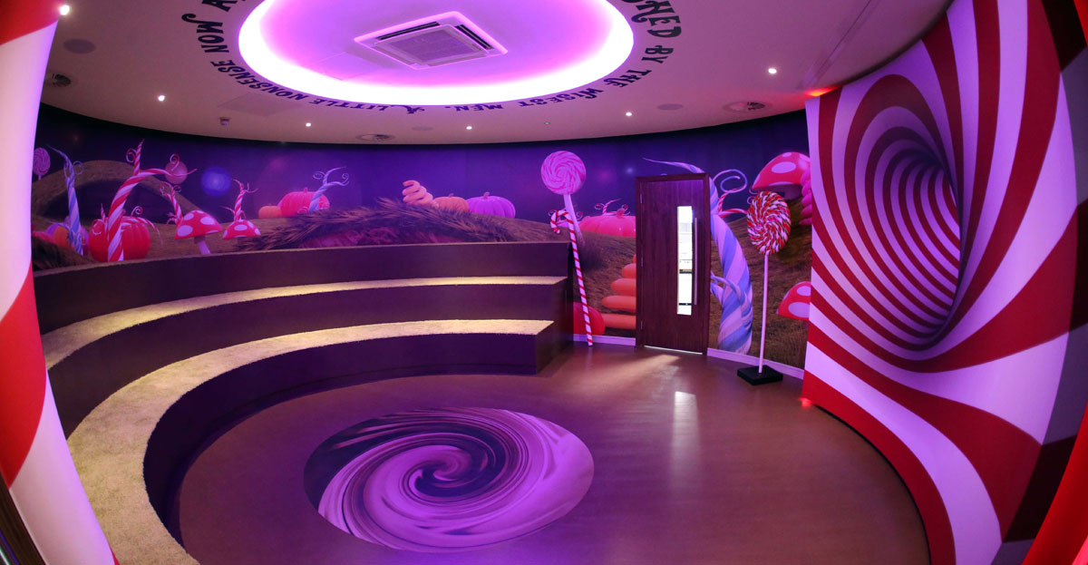 The Willy Wonka Emporium, Grant Thornton, Belfast (Photo by Press Eye)
