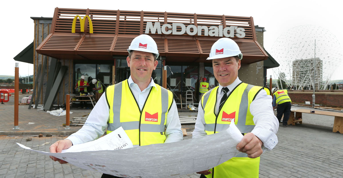 Marcon Fit-Out builds new McDonald's restaurant in Belfast