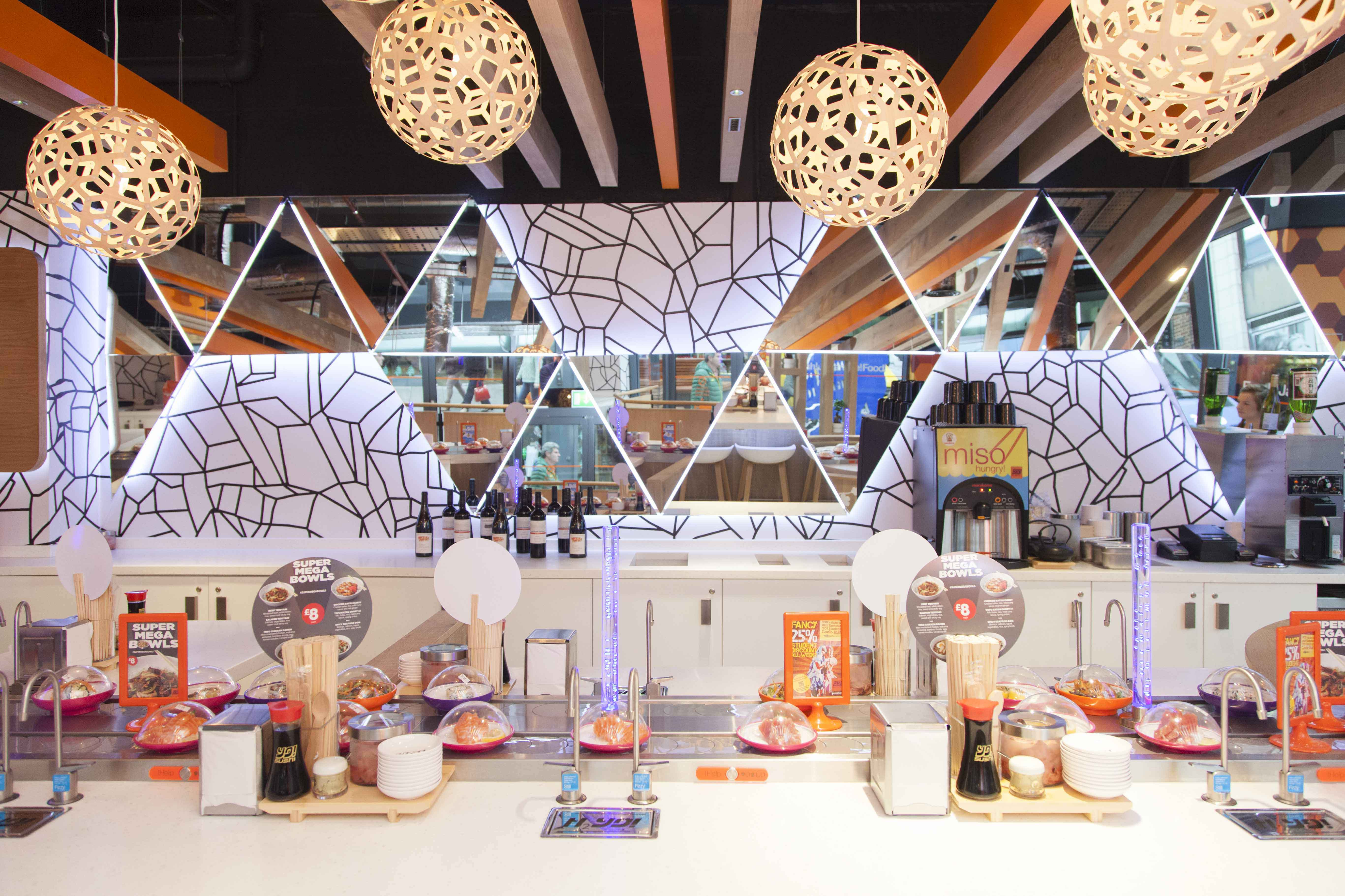 Marcon Fit Out Yo Sushi Comes To Belfast Marcon Fit Out
