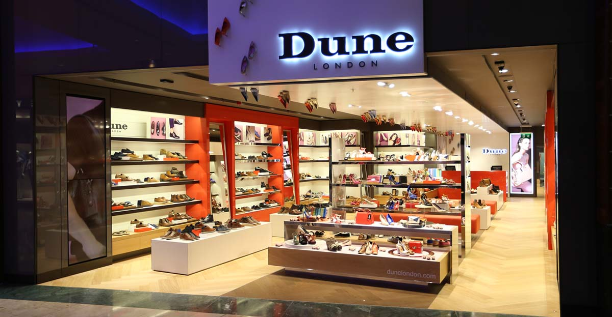 Marcon steps out in style with new Dune store