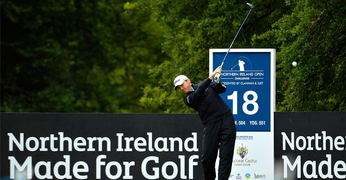 Marcon Fit-Out tees off sponsorship of NI Open