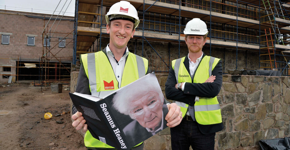 Marcon Fit-Out picks up Seamus Heaney building project