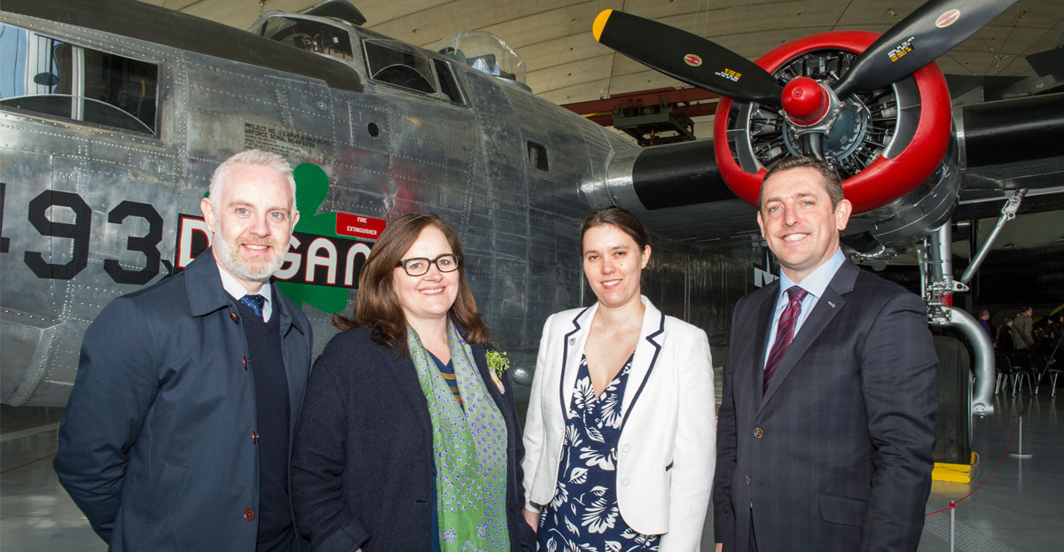 Marcon completes transformation of American Air Museum at IWM Duxford.