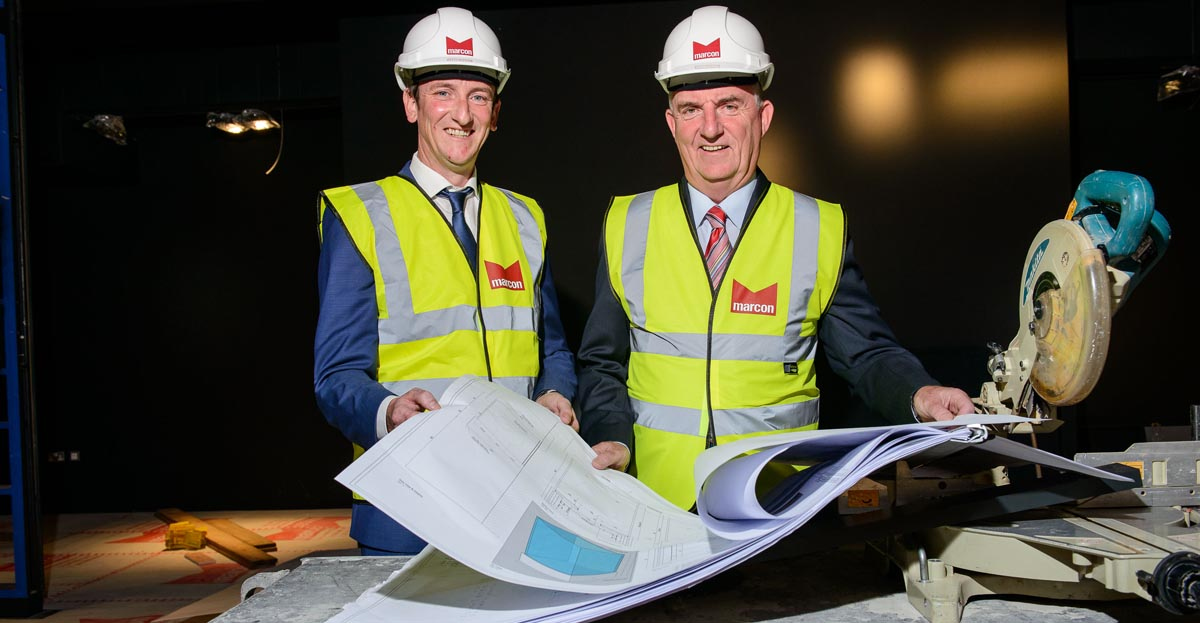 Marcon starts onsite at Seamus Heaney HomePlace