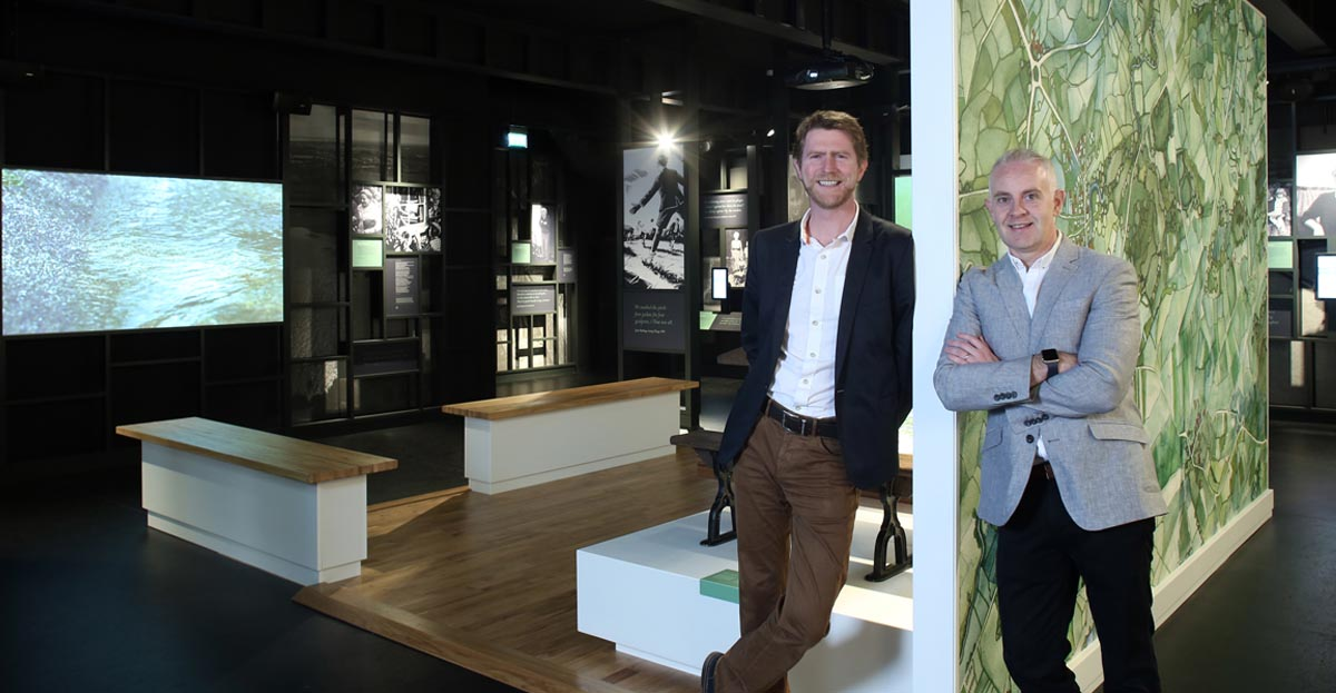 Marcon finishes last chapter at Seamus Heaney HomePlace