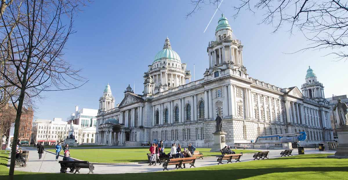 Marcon puts the finishing touches to a new £1.3million visitor attraction at Belfast City Hall