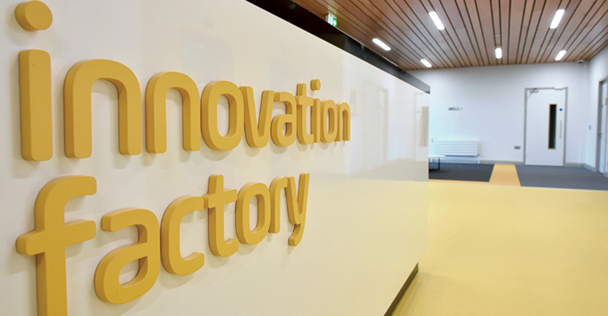 Marcon appointed to carry out fit-out works at Innovation Factory in Belfast.