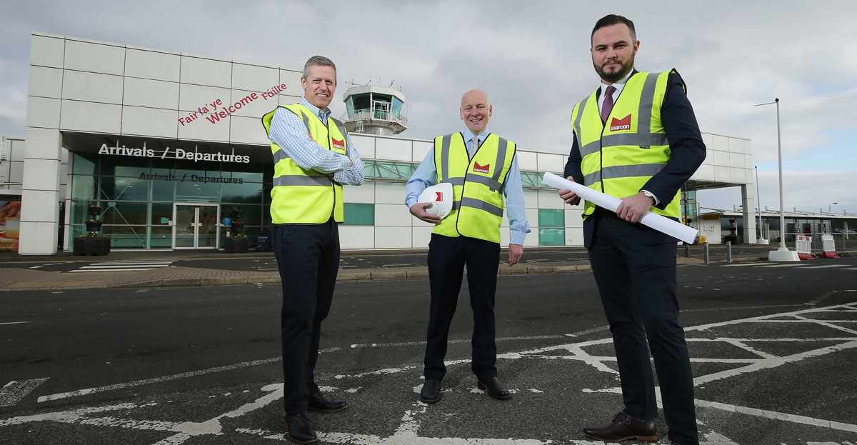 Marcon secures fit-out contract at City of Derry Airport