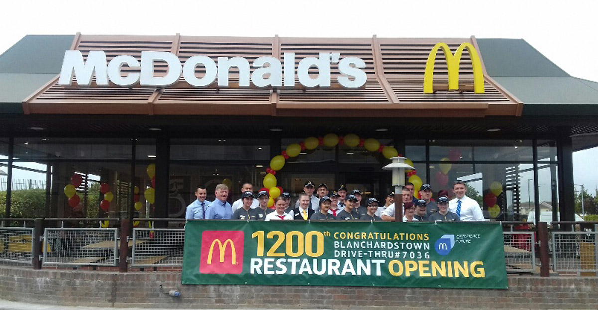"Marcon helps McDonald's complete 1200th ""Experience of the Future"" restaurant"