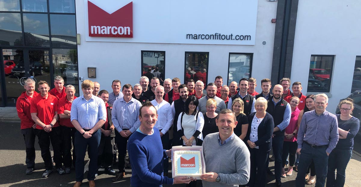 Marcon reaches landmark anniversary
