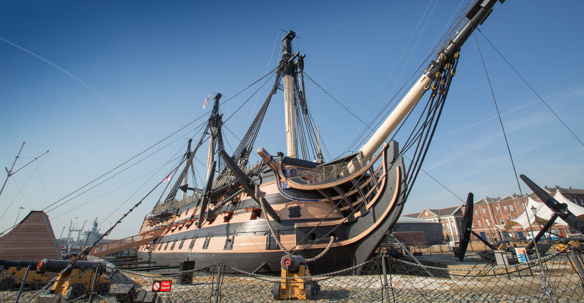 Marcon and Haley Sharpe Design join forces with HMS Victory design and build contract win