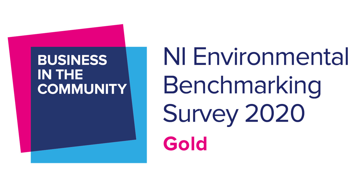Marcon recognised for green leadership through NI Environmental Benchmarking Survey