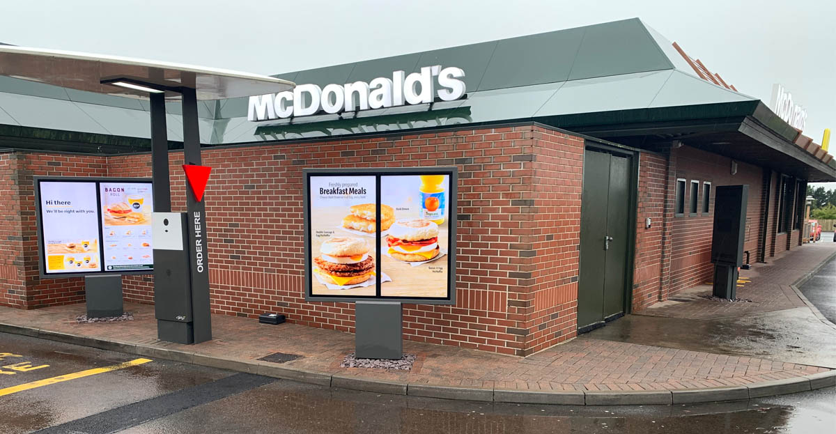 Marcon accelerating McDonald's Digital Drive Thru roll out