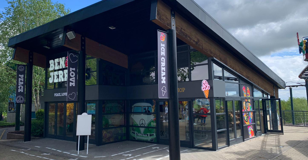 """Marcon """"scoops"""" Ben & Jerry's fit-out at LEGOLAND® Windsor Resort"""